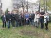 Превантивен клуб към ПТГ- Варна засадиха брезичка