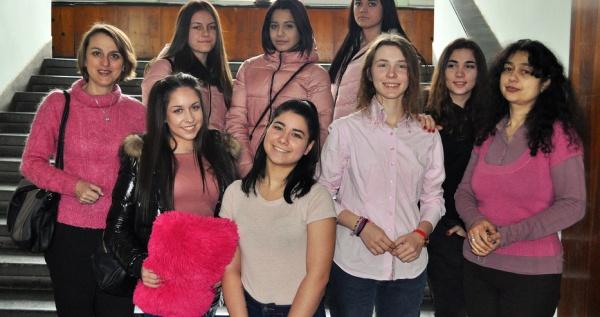 Ден на  розовата фланелка в  ПТГ – Варна