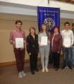 Млади Ротарианци: ученици от ПТГ-Варна, 2018