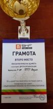 Лекоатлетическа щафета -  второ място за ПТГ - Варна